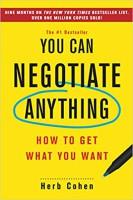 خلاصه کتاب شما میتوانید برای هر چیزی مذاکره کنید